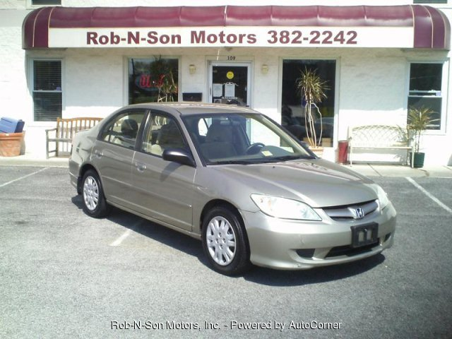 2005 HONDA CIVIC LX Sedan w/ Front Side Airbags
